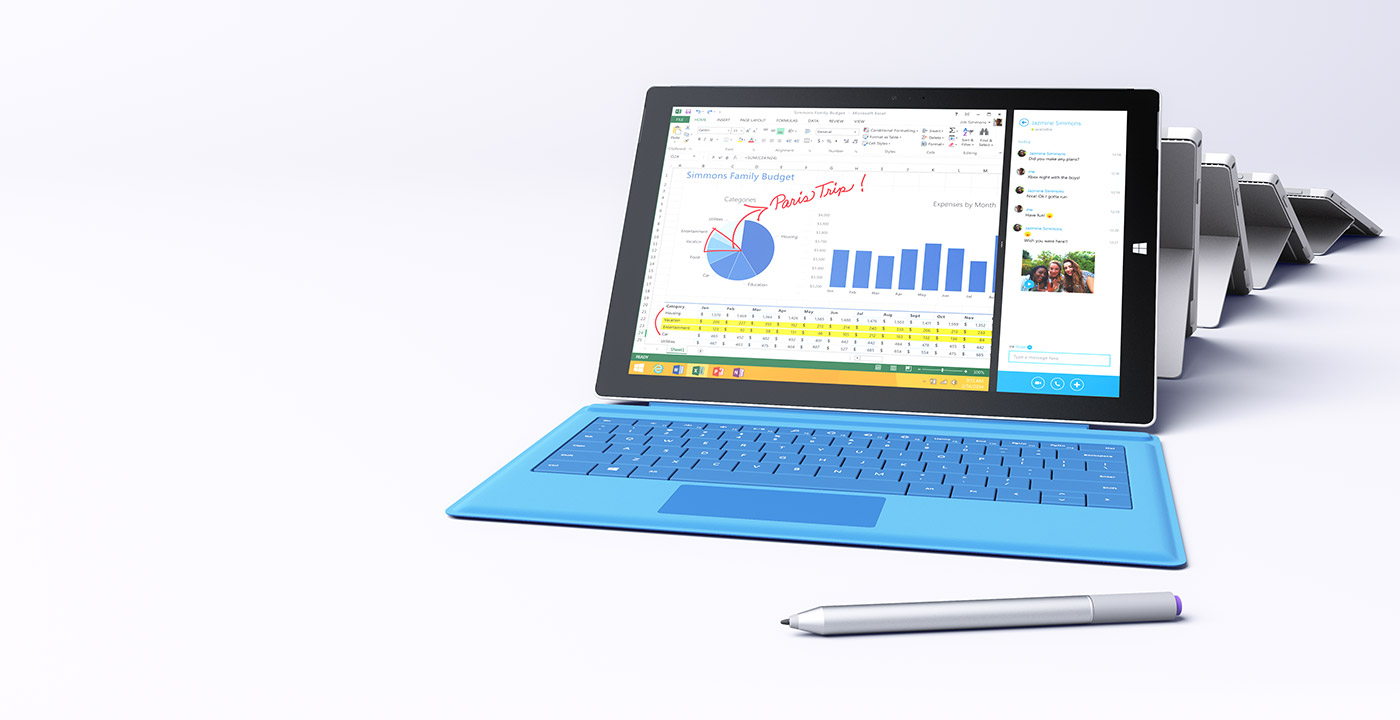 Surface Pro 3 Tablet<br /><br /><br /><br /><br /><br /><br /><br /><br /><br /><br /><br /><br /><br /><br /><br /><br /><br />