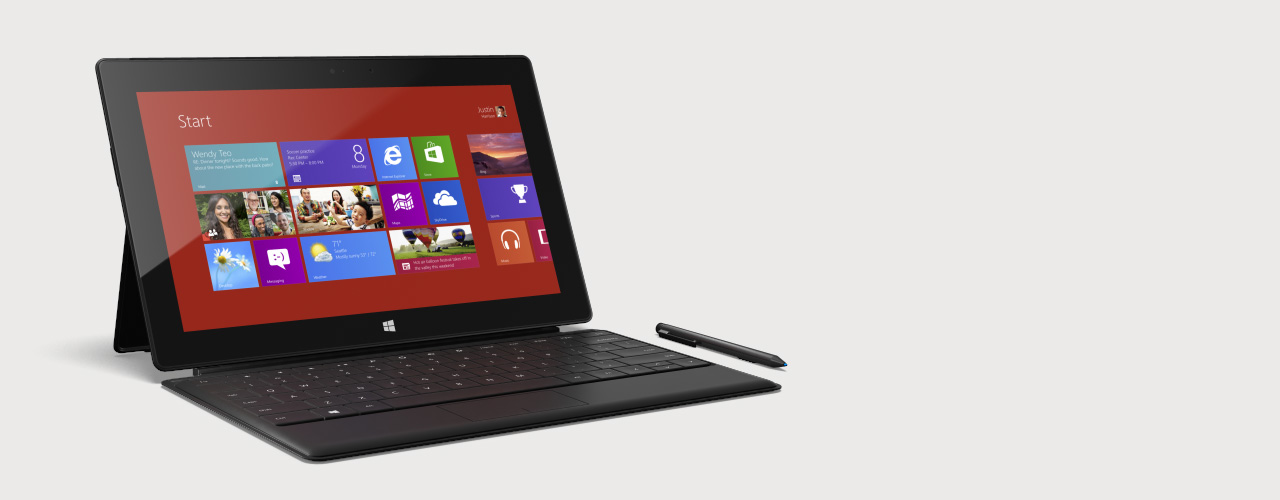Surface by Microsoft, Buy the New Windows Tablet