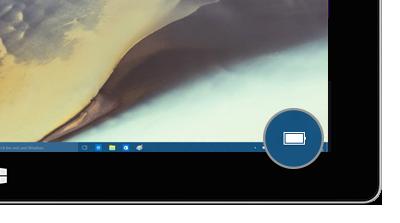battery icon in taskbar