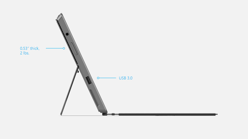 Surface Pro features