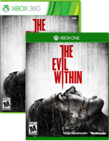 The Evil Within on Xbox One and Xbox 360 box shots