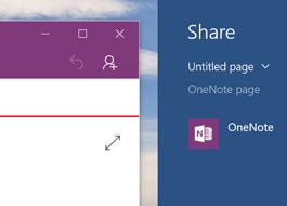 Utiliser l'icône Partager pour partager une page