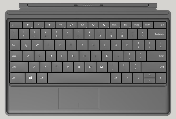 Microsoft Type Cover para el Surface