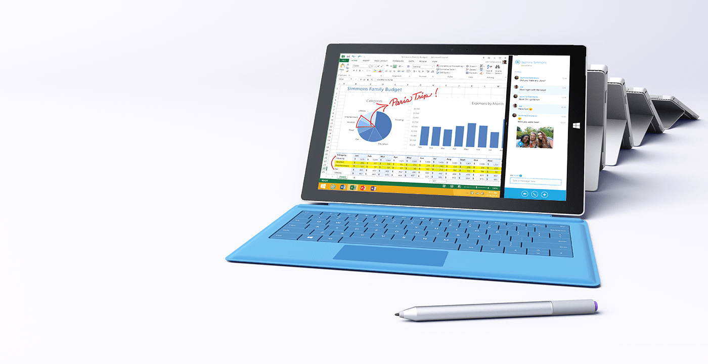 Surface Pro 3 Tablet