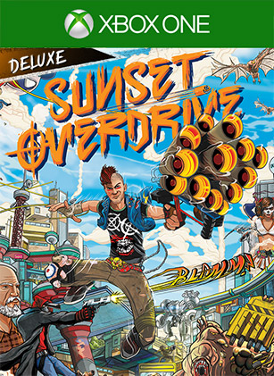 Sunset Overdrive Day One Deluxe Edition Box Shot