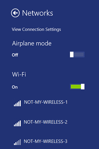 who is connected to my wireless network: