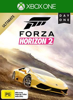 Forza Horizon 2 Day 1 Ultimate Edition Box Shot