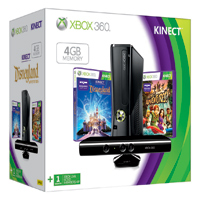 Xbox 360 Limited Edition Family Kinect Holiday Bundle