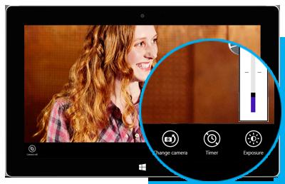 Einstellungen der Kamera-App