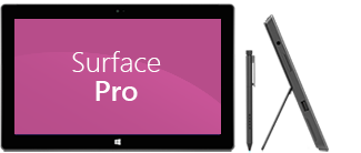 Surface Pro front and side