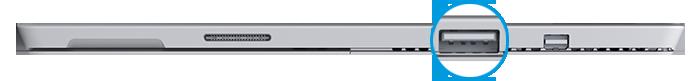 USB port on Surface Pro 3