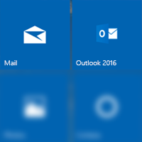 Two mail apps