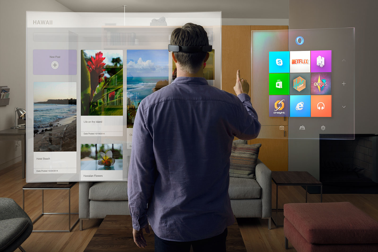 MICROSOFT HOLOLENS : The Greatest Technology by Microsoft